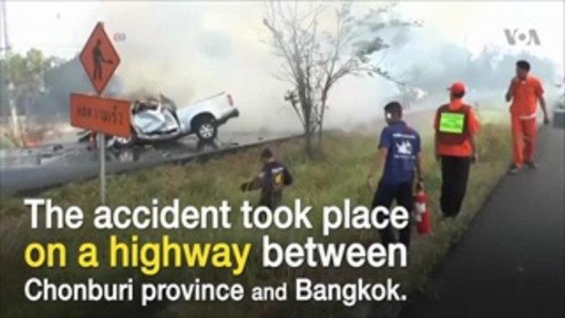 'ไทย' มีสถิติการตายจากอุบัติเหตุบนถนนติดอันดับโลก