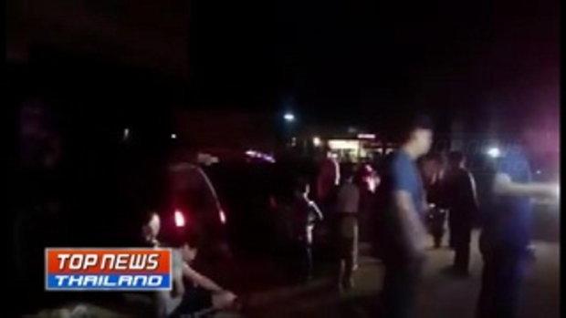 รถตู้อีกแล้ว! คนขับรถตู้วูบหลับรถเสียหลักตกคู นักท่องเที่ยวชาวใต้หวันบาดเจ็บ 8 คน