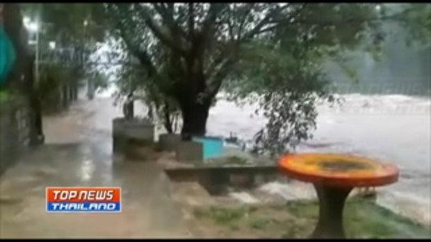 เมืองคอนฝนตกหนักต่อเนื่อง น้ำป่าทะลักหนักสุดในรอบ 20 ปี