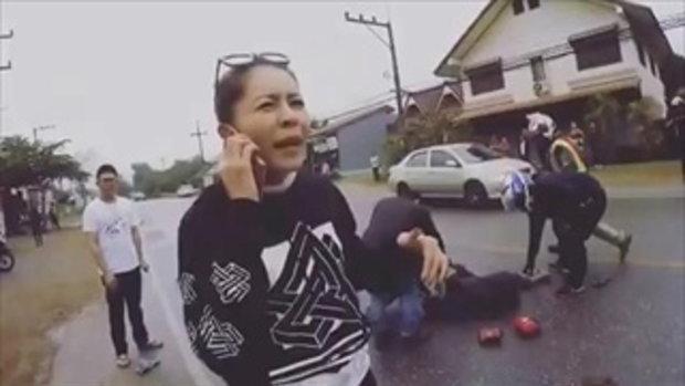 """เมื่อเห็นคนแก่โดนรถชน มาดู """"เป็กกี้ ศรีธัญญา"""" ตัดสินใจทำ! Ep 2"""