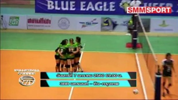 Volleyball Corner : ปรีวิว วอลเลย์บอลไทยแลนด์ลีก ทีมหญิง สุดสัปดาห์ที่ 7-8 ม.ค. 60