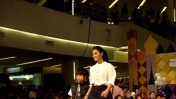 ย้อนชม เจ้านาย กับ แม่ปิ่น เดินแบบในวัยเด็ก เมื่อปี 2010