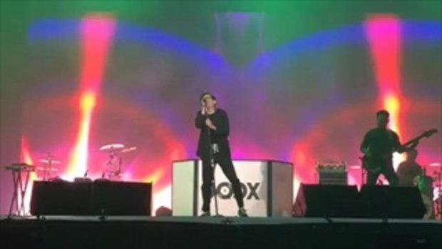 มินิคอนเสิร์ตงาน  JOOX ANNIVERSARY PARTY 2017