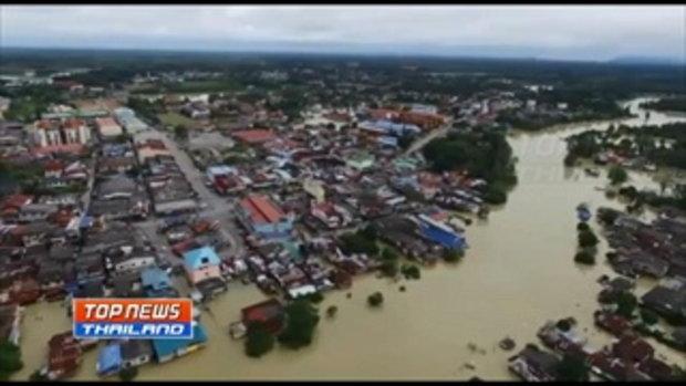 นราธิวาสประกาศเป็นเขตภัยพิบัติทั้งจังหวัดอีกครั้ง หลังถูกน้ำท่วมเป็นรอบที่ 3