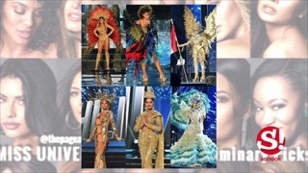 ส่องชุดประจำชาติสาวเอเชีย Miss Universe 2016 สวยงามจนตะลึง