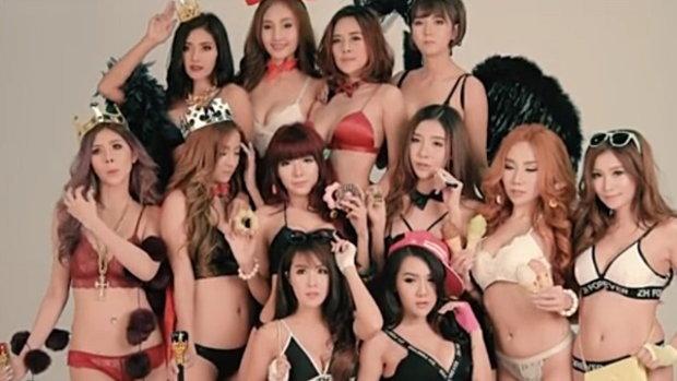 เบื้องหลังชิคๆ ของ 12 สาว RUSH Sassy Club 2017