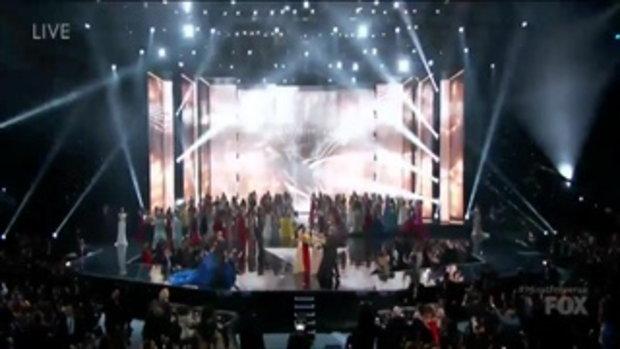 นาทีมงลง Iris Mittenaere นางงามฝรั่งเศส คว้ามงกุฎ Miss Universe 2016