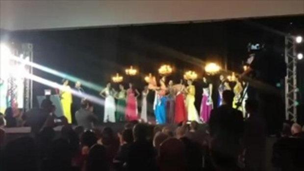 สงครามนางงาม !! ย้อนชมนาทีกระชากมงกุฎ กลางเวที Miss Amazonas ปี 2015