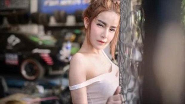 จ้องตาค้าง สาวสวยหุ่นเอ็กซ์ ในชุดช่างซ่อม อู่อยู่ที่ไหนเนี่ยจะไปซ่อมบ้าง