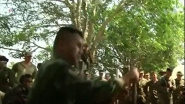 หลักสูตร 'ดำรงชีพในป่า' ในการฝึก 'คอบร้าโกลด์' กองทัพไทย-สหรัฐฯ