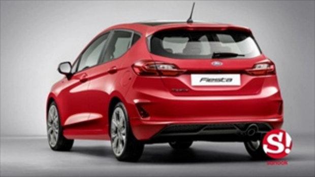 Ford Fiesta 2018 ใหม่ เตรียมขายจริงอังกฤษ ราคา 5.46 แสนบาท