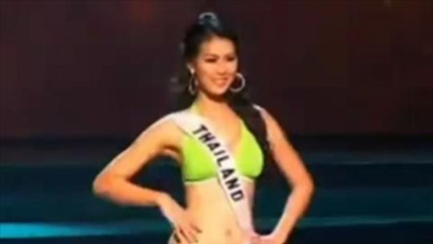 ย้อนชม ! แก้ม กวินตรา สมัยประกวด Miss Universe 2008