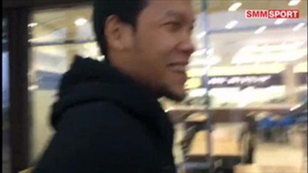 มุ้ย, เจ, ตอง เผยรู้สึกล้านิดหน่อยหลังเดินทางถึงเกาหลี