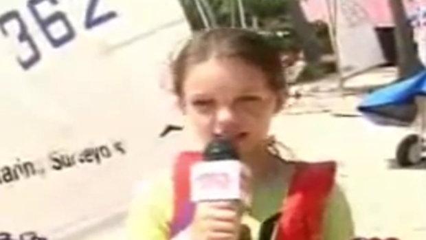 เจสซี่ วาร์ด Jessie Vard สมัยเป็น นักข่าววัยซน วัยใสๆ ยังน่ารักอยู่เลย