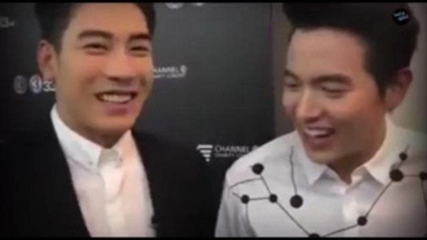บอย ปกรณ์-เคน-เกรท -เจมส์จิ เบื้องหลังฮาๆ Love is in the air Channel 3 Charity Concert