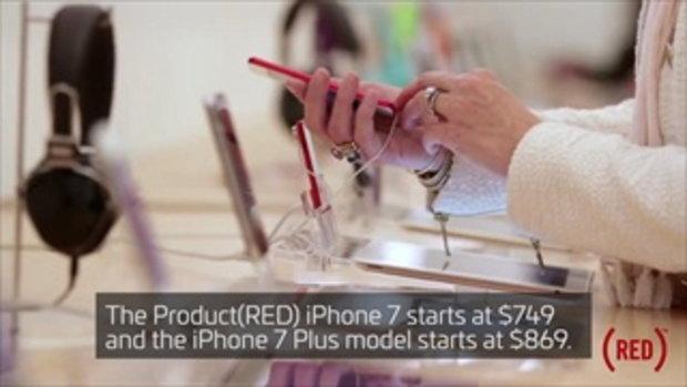 เปิดตัว iPhone 7 / Plus สีแดงอย่างเป็นทางการ