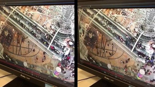 ระทึก อุบัติเหตุบันไดเลื่อนยาวสุดในฮ่องกง เลื่อนสวนทาง ลูกค้าร่วงระนาว-เจ็บเพียบ
