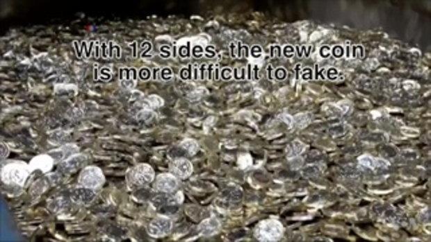 เหรียญ มูลค่า 1 ปอนด์แบบใหม่ 'ปลอมยากที่สุดในโลก'