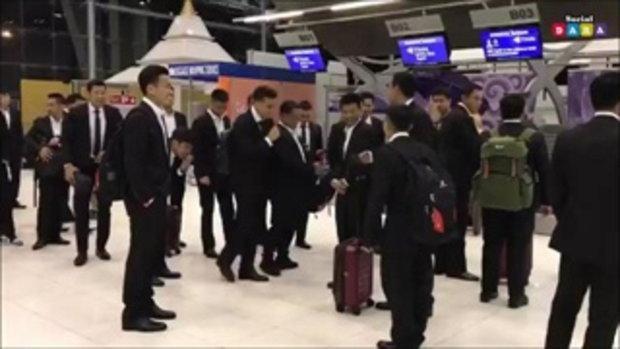 ไปดู - เจ ขนาธิป  ปีโป้ จอมป่วนชอบแกล้งเพื่อนๆ ก่อนขึ้นเครื่องไปญี่ปุ่น