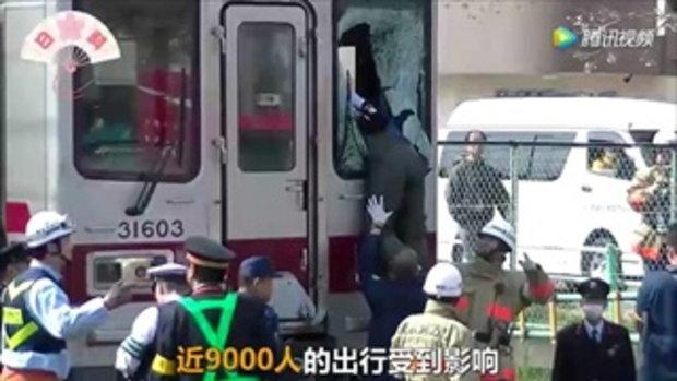 หนุ่มญี่ปุ่นคิดสั้นโดดขวางให้รถไฟชน แต่เขากลับไม่ตาย