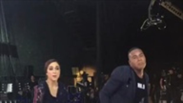 เมื่อ ซาร่า เต้นประชัน รัศมีแข มาดูลีลาใครจะเด็ดกว่า