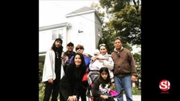 ธัญญ่า บินกลับบ้านอเมริกา โชว์ภาพครอบครัวรามณรงค์