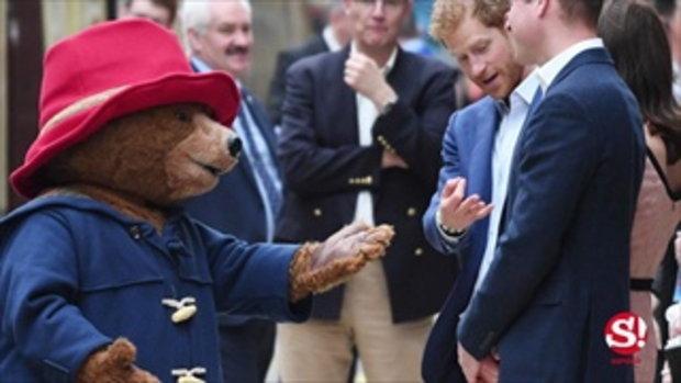 รอยยิ้มเกิดได้ทุกที่ เมื่อหมีแพดดิงตัน ขอ เจ้าหญิงแคเธอรีน เต้นรำ