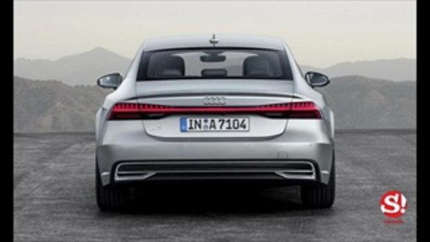 Audi A7 Sportback 2018 ใหม่ เผยโฉมอย่างเป็นทางการแล้ว