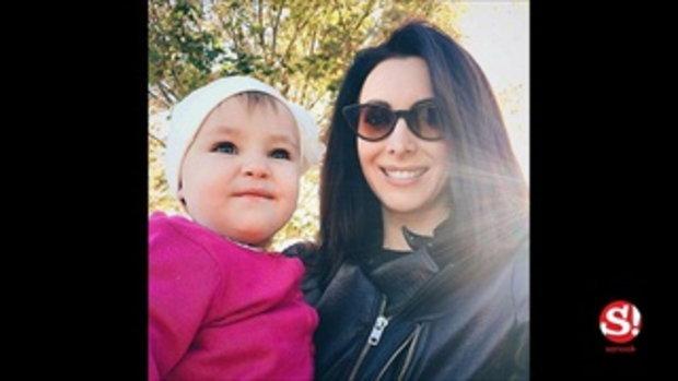 ตุ๊กตาชัดๆ น้องมายา ลูกสาวนาตาลี เกลโบวา ตาสวยเหมือนแม่