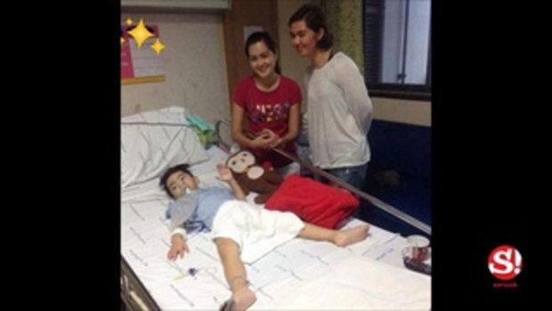 อัพเดท น้องสกาย ยังนอนไอซียู ปากติดเชื้อ-ไข้สูงตลอดเวลา