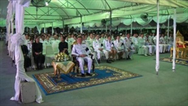 Sakorn News : พิธีเผาดอกไม้จันทน์ งานพระราชพิธีถวายพระเพลิงพระบรมศพ