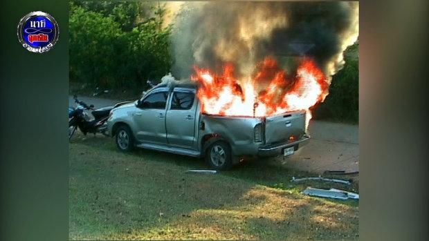 นาทีฉุกเฉิน : EP 37  วินาทีเฉียดตาย..รถขนถังแก๊สลูกโป่งสวรรค์ระเบิด