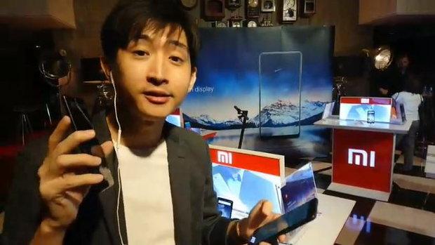 ไลฟ์พรีวิว Mi Mix 2 สมาร์ทโฟนรุ่นท็อป จอไร้ขอบ ราคาแค่ 17,990 บาท!
