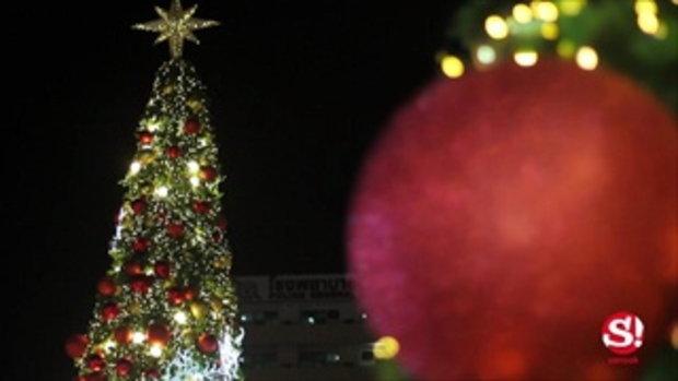 พาชม ไฟคริสต์มาสสุดอลังการ ณ ลาน CentralWorld