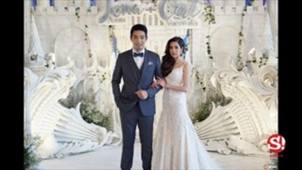 4 ชุดแต่งงานสวยสดใส จีน่า อันนา ภรรยาสาววัย 25 ปีของ โอ๊ต วรวุฒิ