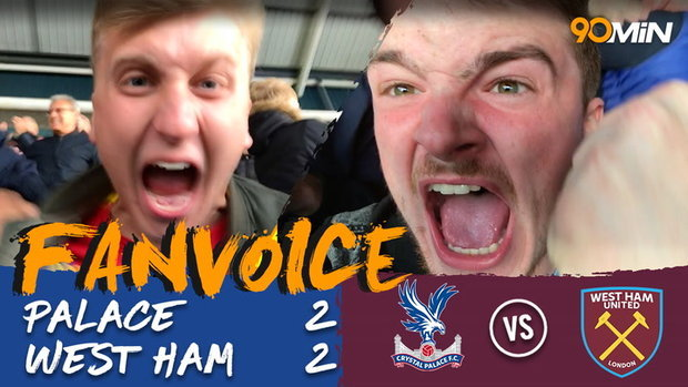 Crystal Palace 2-2 West Ham