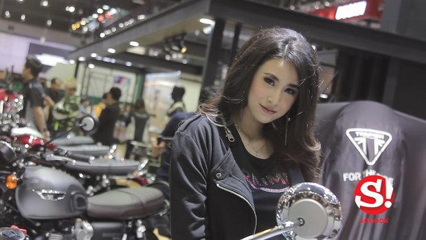 พริตตี้ สาวสายซิ่ง บิ๊กไบค์ Motor Expo 2017
