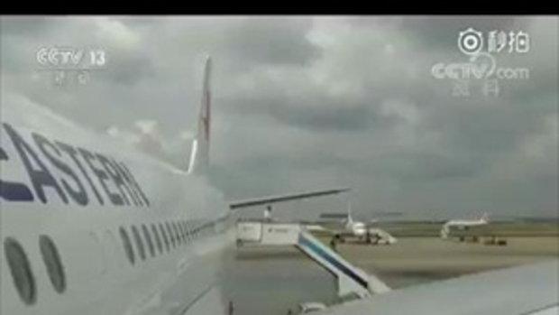 ผู้โดยสารหมดสติ สายการบินจีนทิ้งน้ำมัน 17 ตัน เพื่อลงจอดฉุกเฉิน