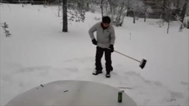 หนาวแค่ติดลบ 'เพชรจ้า'ควง'นิวเคลียร์'แช่น้ำกลางหิมะถึงฟินแลนด์ น่าอิจฉามากๆ