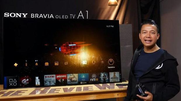 แบไต๋รีวิวทีวีระดับท็อปของ #Sony ตัวล่าสุดอย่าง Sony #BraviaA1