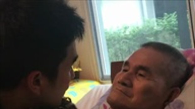 บทสนทนาและความน่ารักของ ณเดชน์ ที่มีต่อคุณพ่อโยชิโอ