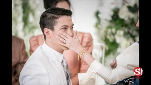 ซูมแหวนเพชร มาร์กี้ วงขอแต่งงาน 1.4 กะรัต แต่งจริง 4.1 กะรัต
