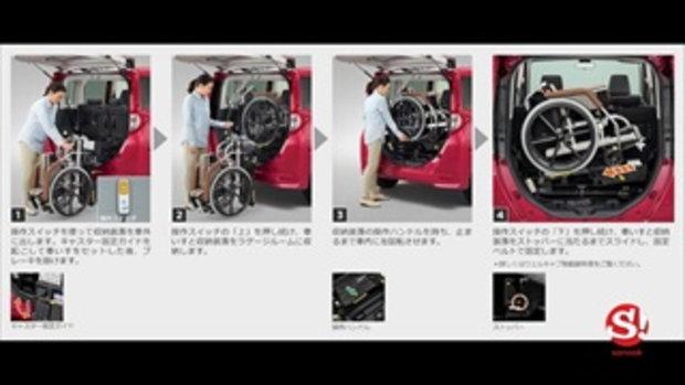 Toyota Tank Roomy Welcab 2018 เวอร์ชั่นพิเศษสำหรับผู้สูงวัย เริ่ม 5.04 แสนบาท
