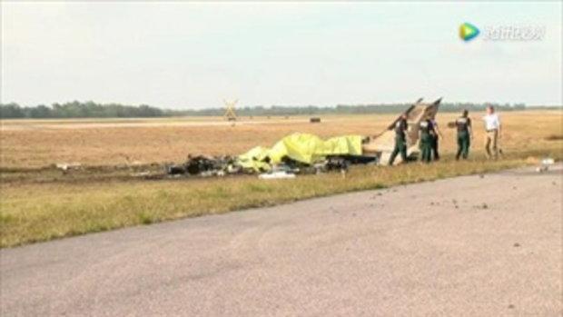 เครื่องบินเล็กตกที่ฟลอริดา ดับยกลำ 5 ศพ