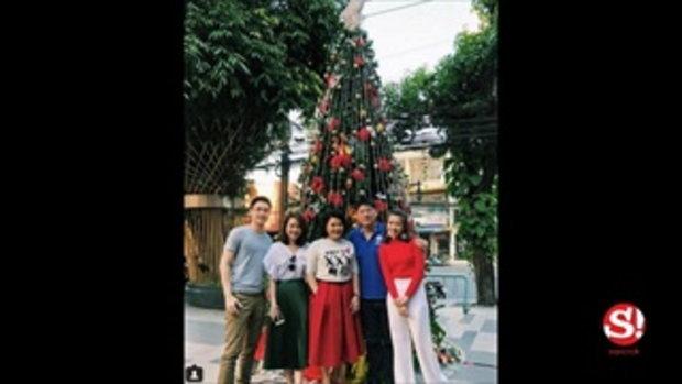 สรยุทธ หวนคืนสังสรรค์คริสต์มาส-ปีใหม่ กับนักข่าวรุ่นน้อง