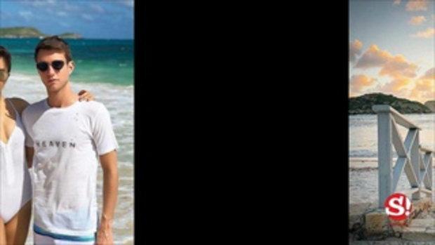 ปู ไปรยา สวยเซ็กซี่ในชุดว่ายน้ำ ควงแฟนสวีทบนเกาะแอนติกา