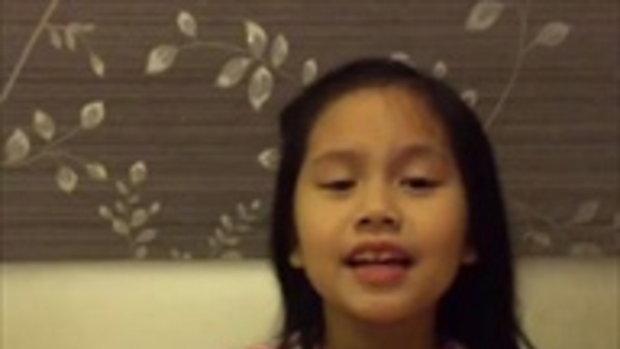 สุดยอดมาก เสียงร้องเพลงและลีลาของน้องฮานิ