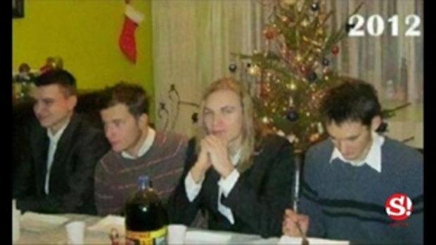 4 หนุ่มถ่ายภาพวันคริสต์มาส อยู่ที่มุมเดิม-ท่าเดิมตลอด 9 ปี
