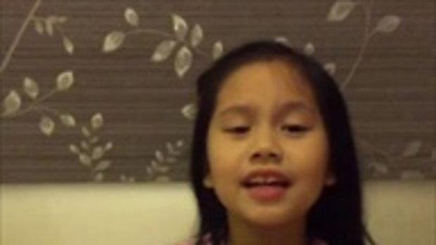 น้องฮานิ ลูกสาวแม่โบว์ สุนิตา โชว์ร้องเพลงภาษาอังกฤษ เป๊ะมาก