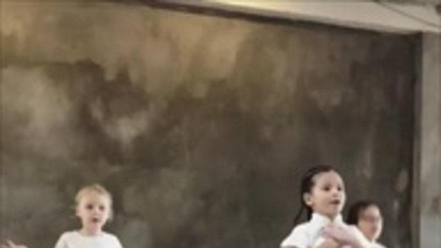 น้องบีน่า ลูก นานา-เวย์ เพิ่งรู้ว่าเต้นมันส์ขนาดนี้ เก่งมากๆ